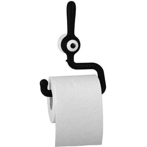 Koziol toq wieszak na papier toaletowy czarny
