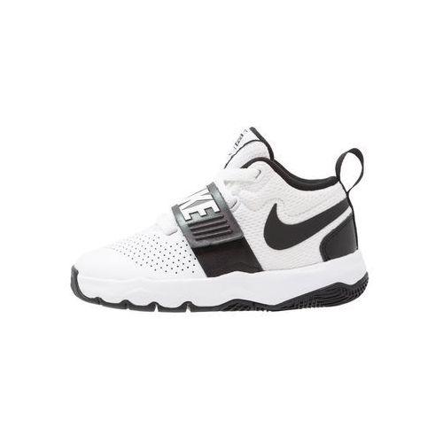 Nike Performance TEAM HUSTLE D 8 Obuwie do koszykówki white/black, kolor biały