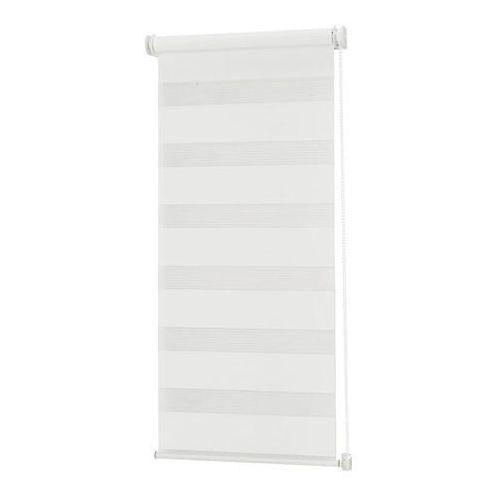 Roleta dzień/noc Colours Elin 41,5 x 180 cm biała, LRDNWA144