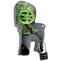 HAMAX Fotelik rowerowy Kiss set grey/green