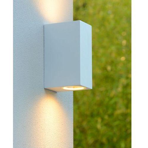 Lucide Zora-kinkiet led zewnętrzny 2-punktowa metal wys.15cm
