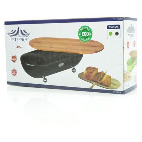 Chlebak emaliowany z drewnianą pokrywą [ph-1265w] marki Peterhof. Najniższe ceny, najlepsze promocje w sklepach, opinie.