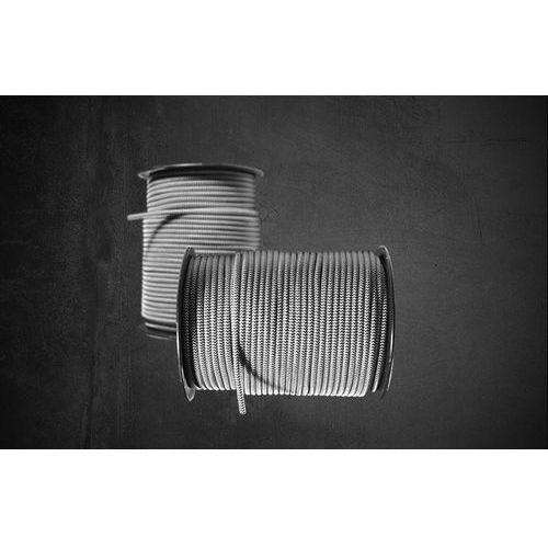 Oldlight Kabel w oplocie kbo-27 white-grey