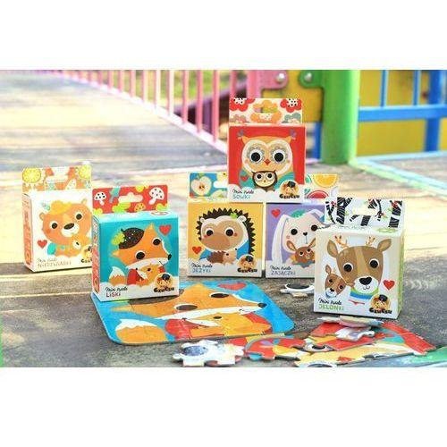 Czuczu mini puzzle 25 liski (5902768336436)