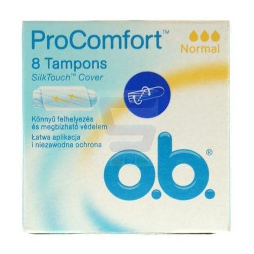 Tampony O.B. ProComfort Normal (8 sztuk) (3574660234800)