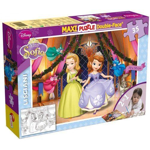 Puzzle 35 Dwustronne Maxi Sofia the First (8008324046928)