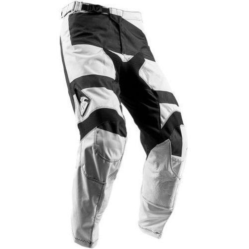 Thor_2018 Thor spodnie pulse level s8 offroad white/black =$