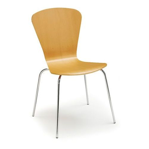 Aj produkty Krzesło do stołówki milla, sztaplowane, buk