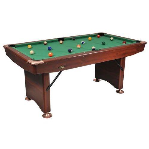 Składany stół bilardowy 6ft BUFFALO CHALLENGER /brązowy/, B-0008