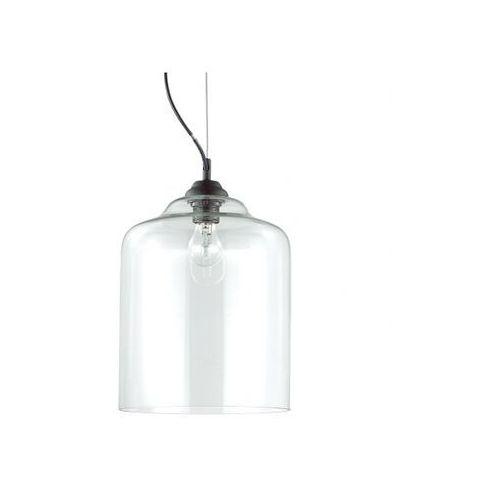 Lampa wisząca BISTRO' SP1 SQUARE TRASPARENTE, kolor Transparentny,
