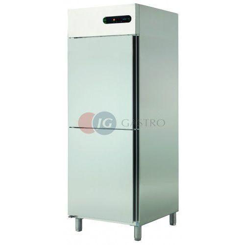 Szafa chłodnicza 2x1/2 drzwi 700 l ECP-702 L