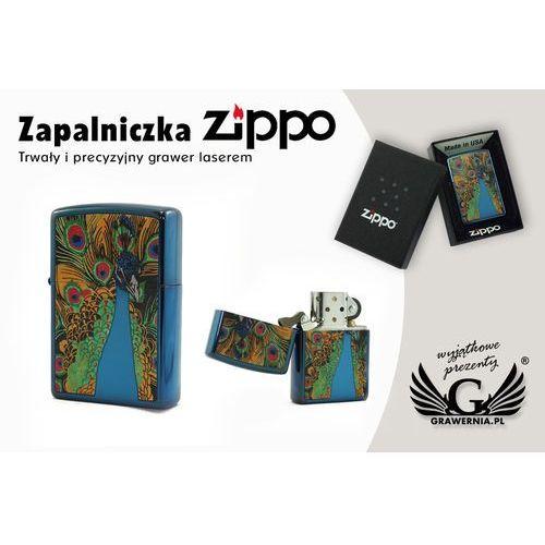 Zapalniczka ZIPPO Paw Sapphire