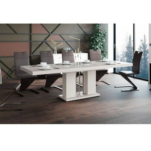 Stół rozkładany LINOSA 160-260 cm cappuccino połysk