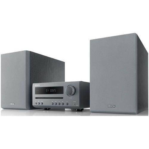 DENON D-T1 SZARY - Mini wieża stereo z odtwarzaczem CD| Raty 0% | Gwarancja 3-lata (4951035066676)