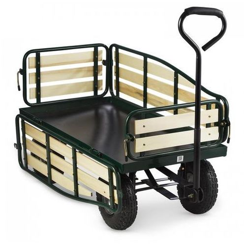 Waldbeck Ventura wózek ręczny wózek gospodarczy duże obciążenia ładunek 300 kg stal
