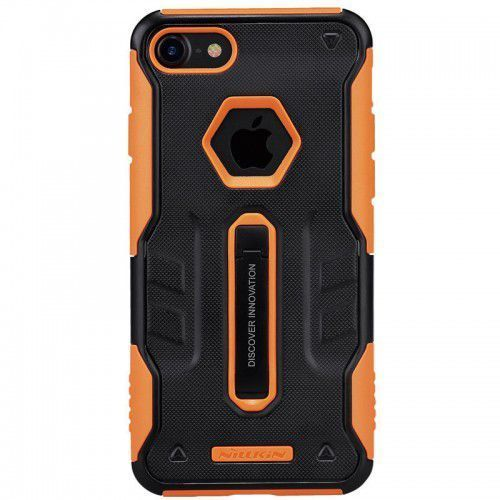 Nillkin Etui defender iv case with holder iphone 7 black/orange (2000046739016)