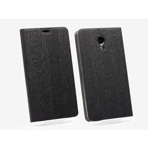 Meizu m2 note - pokrowiec na telefon - czarny marki Etuo flex book