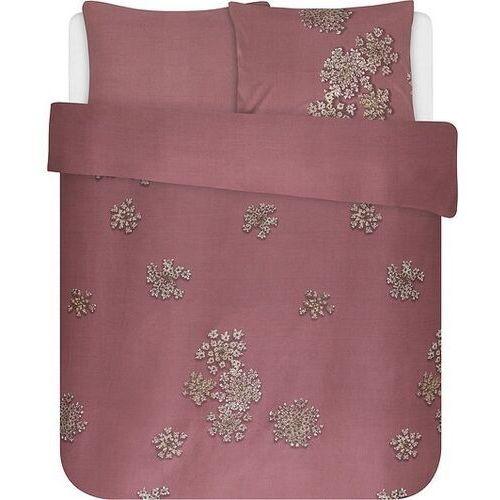 Essenza Pościel lauren różowa 200 x 220 cm z 2 poszewkami na poduszki 60 x 70 cm (8715944613118)