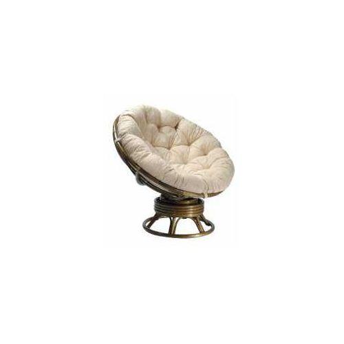 Fotel bujano-obrotowy 23/01/b marki Calamus rotan