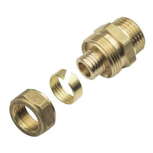 Złączka skręcana KAN-therm gwint zewnętrzny 1/2 x 18 x 2,5 mm, HAL895