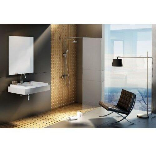 RAVAK ścianka wolnostojąca Walk In Wall 100/200 h Polerowane aluminium + Transparent GW9WA0C00Z1, GW9WA0C00Z1