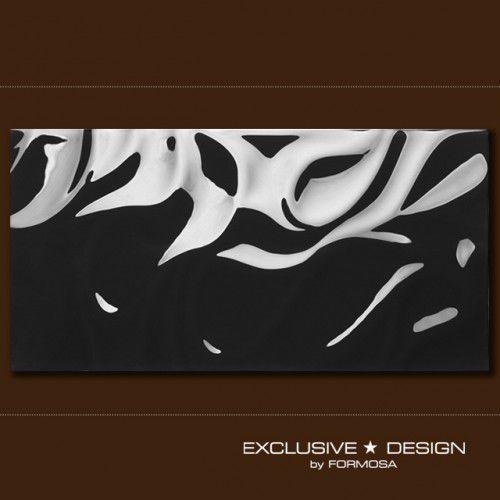 płytka 3d silk black 600x300x8 mm a-tgl08xx-017 marki Midas