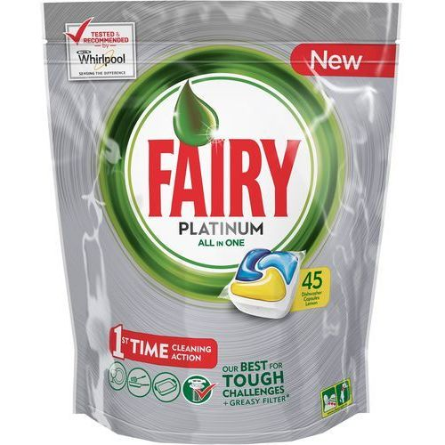 Tabletki All In One do zmywarki FAIRY All In One Platinium Lemon 8001090015945 45szt. (8001090015945)