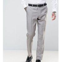 Heart & dagger slim summer wedding suit trousers - stone
