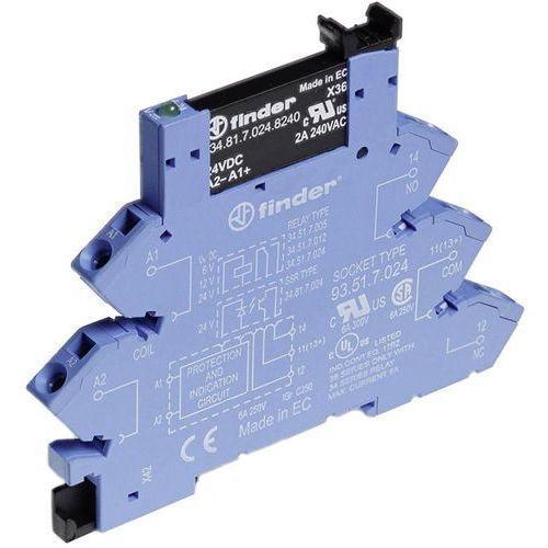 Przekaźnikowy moduł sprzęgający Finder 38.91.3.125.8240, 38-91-3-125-8240