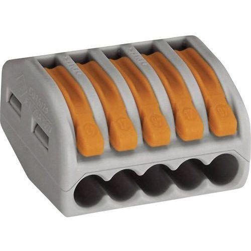wago Złączka instalacyjna 5x uniwersalna 222-415 wago (4044918464956)