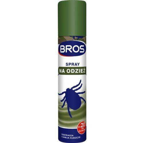 BROS spray na odzież odstrasza i zabija kleszcze (5904517082571)