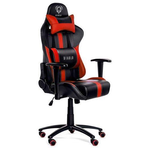 Fotel DIABLO X-Player Czarno-czerwony + Zamów z DOSTAWĄ JUTRO! + DARMOWY TRANSPORT! (5902560332469)