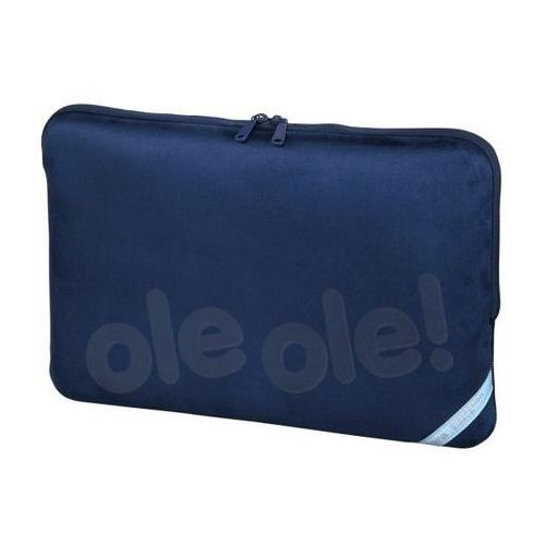 ETUI DO NOTEBOOKA VELOUR 17.3 NIEBIESKIE, 001012140000