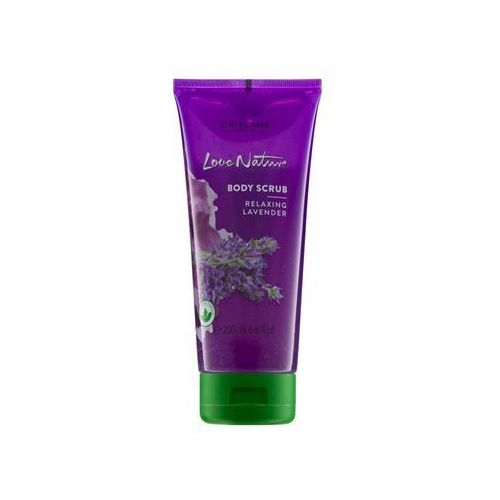 Oriflame Love Nature peeling do ciała o zapachu lawendy (Relaxing Lavender) 200 ml (2800012967241)