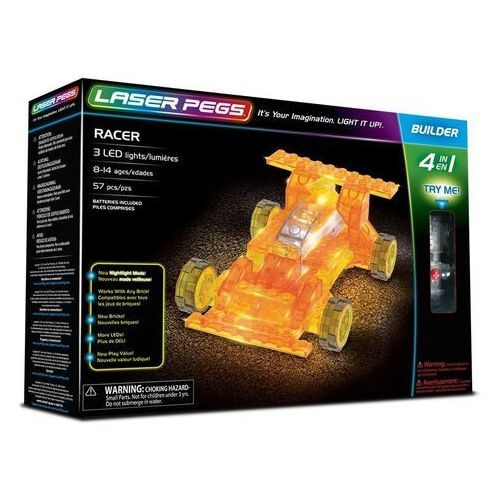 4 in 1 Racer - Laser Pegs