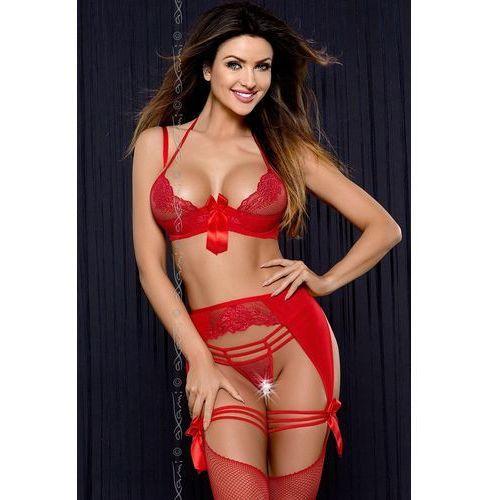 Axami Pas do pończoch niski model v-6652 heat red