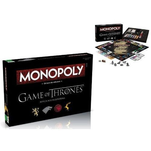 Monopoly Gra o Tron +DARMOWA DOSTAWA przy płatności KUP Z TWISTO, 5CD9-1455F