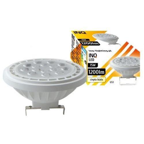 Żarówka led g53 ar111 15w 3000k lighting ar040ww marki Inq