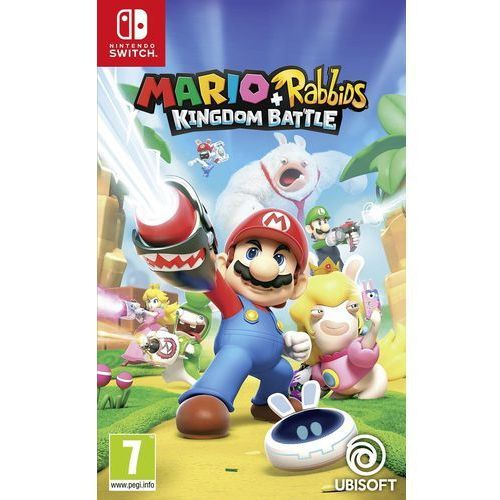 Mario + rabbids kingdom battle switch marki Ubisoft