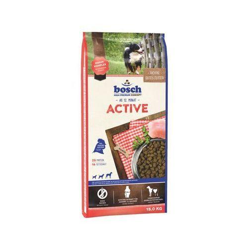 Bosch Active, drób (nowa receptura) 15kg + 5xPaszteciki