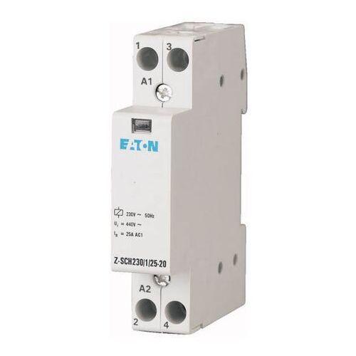 Stycznik instalacyjny Eaton 16/25A Z-SCH230/1/25-20, 120853
