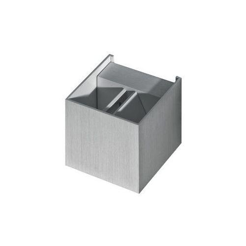 Azzardo Leticia AZ1057 GM1111 A Kinkiet lampa oprawa ścienna 1x40W G9 aluminium, GM1111 A