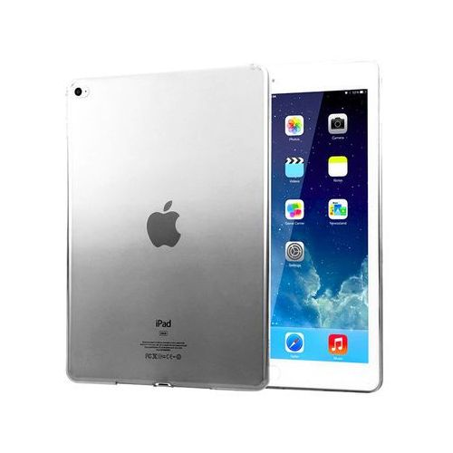 Etui Alogy ombre case Apple iPad Air 2 silikonowe czarne - Czarny