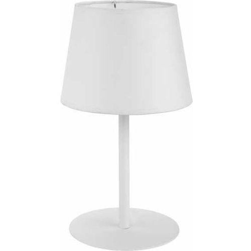 Lampa lampka oprawa stołowa TK Lighting Maja 1x60W E27 biała 2935 (5901780529352)