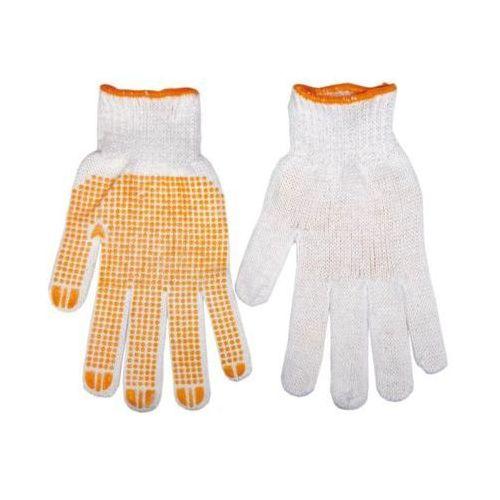 Topex Rękawice robocze 83s202 biało-pomarańczowy (rozmiar 10)
