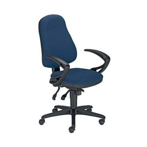 Krzesło obrotowe offix gtp41 ts25 z mechanizmem ibra marki Nowy styl