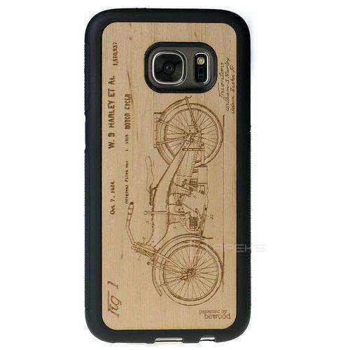 Bewood Harley Patent Olcha etui na telefon Samsung Galaxy S7 - Harley Patent Olcha (1127214608777)