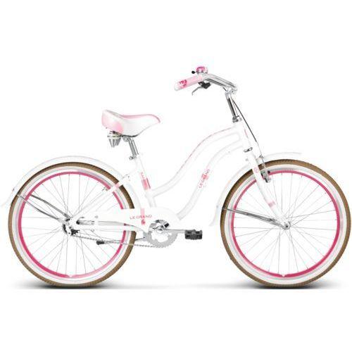 Rower Le Grand SANIBEL JR biało-różowy 2017. Najniższe ceny, najlepsze promocje w sklepach, opinie.