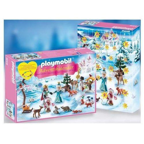 Playmobil CHRISTMAS Kalendarz adwentowy - lodowa księżniczka w zamkowym parku 9008