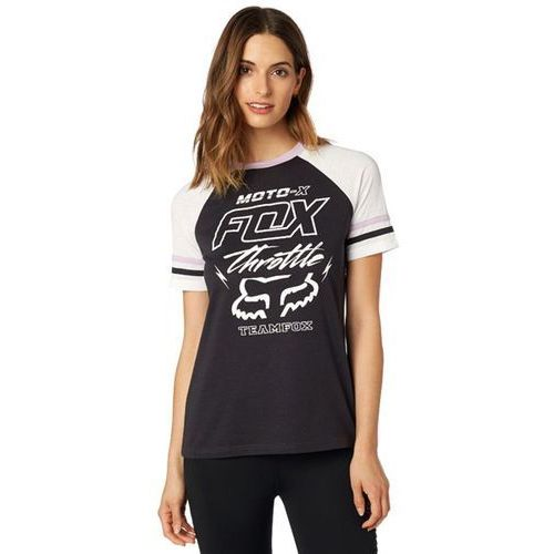 koszulka FOX - Throttle Maniac SS Top Black Vintage (587) rozmiar: S